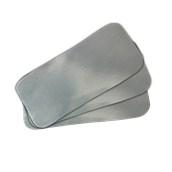 LID-102 Πακέτο 50 καπάκια μεταλιζέ για ταψάκι αλουμινίου KR-2L / R1-02L