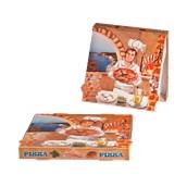 33x33x4 /ISC Κουτί Πίτσας Μικροβέλε ISCHIA, 33x33x4cm, Ιταλίας