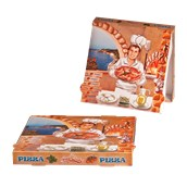 36x36x4 /ISC Κουτί Πίτσας Μικροβέλε ISCHIA, 36x36x4cm, Ιταλίας