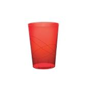 2770-28 Πλαστικό ποτήρι PS μίας χρήσης 23cl κόκκινο
