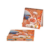 28x28x4 /ISC Κουτί Πίτσας Μικροβέλε ISCHIA, 28x28x4cm, Ιταλίας