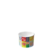 60-10 Κύπελο Παγωτού  Χάρτινο  75ml, Ιταλίας