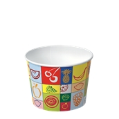 450-10 Κύπελο Παγωτού Χάρτινο 520ml, Ιταλίας