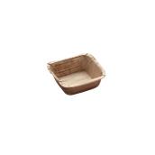 811 Δίσκος Βαθύ Τετράγωνος 7x7cm Από Φοινικόφυλλα, Βιοδιασπώμενο