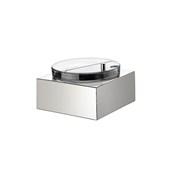 V760552017 Μπωλ γιαουρτιού 24x24cm 3lt με καπάκι και ψυχώμενη βάση 18/10, abert Ιταλίας