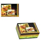 BXA-19-14-8 Κουτί Ψητοπωλείου Μεταλιζέ για κοτόπουλο μισό ελληνικής κατασκευής (τιμή ανά κιλό)