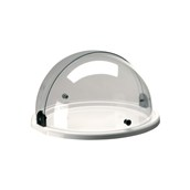 V7712520TP1 Bιτρίνα Παρουσίασης ABS με καπάκι Roll - Top, φ38cm, abert Ιταλίας