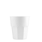 4075-11 Πλαστικό ποτήρι PP μίας ή πολλών χρήσεων 33cl λευκό