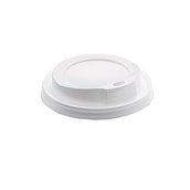 CF-LID-12-16OZ/WH Καπάκι Πιπίλα Λευκό, για τα ποτήρια 12 oz και 16 oz