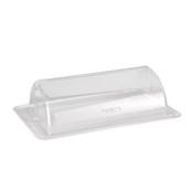 ZCP-017 Βιτρίνα Roll Top Με Λευκή Βάση Μελαμίνηs, Alkan