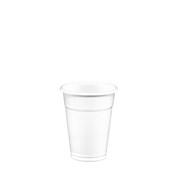 LR-503/ECO/WH Ποτήρι Κρύσταλ 25 cl, 2,4gr, Νερού, Λευκό PP, Lariplast