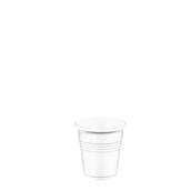 LR-501/WH Ποτηράκι 16 cl, 1,6gr, για Ελληνικό Καφέ, Λευκό PP, Lariplast