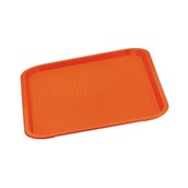81240R Δίσκος Fast Food πολυπροπυλενίου 41,5x31cm, Κόκκινος