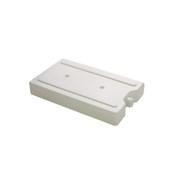 CIB-2412 Παγοκύστη Λευκή 20x12x3cm, 0,75LT