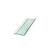 TFN2-1525GL Ακρυλικόs Δίσκοs Παρουσίασηs 15x25cm, διαφανές glass look, GARIBALDI