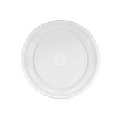 LR-NO2/50 Οικονομικό Πιάτο Φαγητού No2, Στρογγυλό Φ21 cm, Λεπτό πλαστικό PS