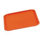81340R Δίσκος Fast Food Πολυπροπυλενίου 45,5x35,5cm, Κόκκινος