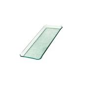 TFN2-1830GL Ακρυλικόs Δίσκοs Παρουσίασηs 18x30cm, διαφανές glass look,GARIBALDI