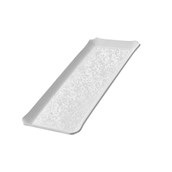 TFN2-2040WH Ακρυλικόs Δίσκοs Παρουσίασηs 20x40cm, λευκός, GARIBALDI