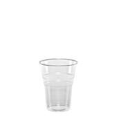 LR-503/ECO/CR Ποτήρι Κρύσταλ 25 cl, 2,4gr, Νερού, Διάφανο PP, Lariplast