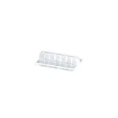 HLS03-01 Βάση-Κλιπ Συγκράτησης για Κάρτες, 4x6x1.5cm, Επιτραπέζιο, Διάφανο