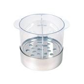 NB-025R Ψυχόμενο Δοχείο Βουτύρου με Τρυπητό Πάτο 2,5 λίτρων, Ανοξείδωτη βάση, Αφαιρούμενο Διαχωριστικό και Καπάκι
