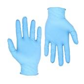 GNI-BL/XL Σετ 100τεμ γάντια ΜΠΛΕ Νιτριλίου μεγάλης αντοχής, χωρίς πούδρα - XL