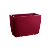 CA301-CM0070-146 Ζαρντινιέρα πλαστική 70x36x50cm κόκκιννη  Rotational Ιταλίας