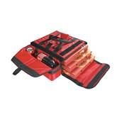 AV-18 Τσάντα Θερμός μεταφοράς Pizza, 35x35x15cm, κόκκινη