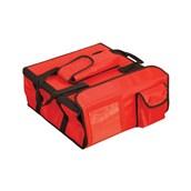 AV-15 Τσάντα Θερμός μεταφοράς Pizza, 45x45x20 cm, κόκκινη