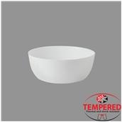 TOL-SB-23 Σαλατιέρα Οπαλίνης 23 cm, Λευκή, Tempered, Σειρά Toledo, Bormioli Rocco
