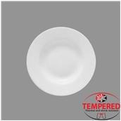 TOL-DP-24 Πιάτο Οπαλίνης Βαθύ 24 cm, Λευκό, Tempered, Σειρά Toledo, Bormioli Rocco