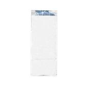 50.01.00-10x27/WH Σακούλα Αλουμινίου Λευκή 10x27cm