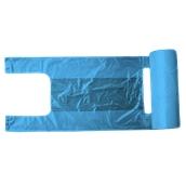 PSR/B-60/200 Ρολό 200 Σακούλεs / Τσάντες Φανελάκι (<15 μίκρο) 30+18 X 60cm Μπλε