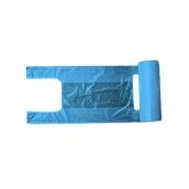 PSR/B-37/200 Ρολό 200 Σακούλεs / Τσάντες Φανελάκι (<15 μίκρο) 25+13 X 37cm Μπλε