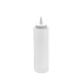 M-03001/CLEAR Πλαστικό Μπουκάλι Σάλτσας 36cl, 12oz, Διάφανο