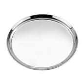 52239 Στρογγυλός Δίσκος Σερβιρίσματος Φ40,5cm, Ανοξείδωτος