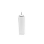 M-03015/CLEAR Πλαστικό Μπουκάλι Σάλτσας 24cl, 8oz, Διάφανο