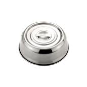 21383 Καπάκι για Στρογγυλούς Δίσκους, Φ18 cm, Ανοξείδωτο