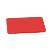 000.0Π7/RD Κόκκινη Πλάκα Κοπής Πολυαιθυλενίου 50x30x1 cm