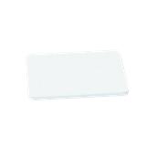 00Π.173/WH Άσπρη Πλάκα Κοπής Πολυαιθυλενίου 40x30x1 cm