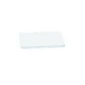 000.0Π3/WH Άσπρη Πλάκα Κοπής Πολυαιθυλενίου 33x18x2 cm