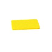 000.0Π2/YE Κίτρινη Πλάκα Κοπής Πολυαιθυλενίου 33x18x1,5 cm