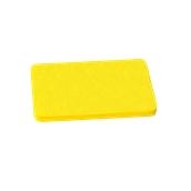00Π.174/YE Κίτρινη Πλάκα Κοπής Πολυαιθυλενίου 40x30x1,5 cm