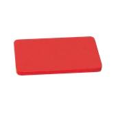 000.0Π8/RD Κόκκινη Πλάκα Κοπής Πολυαιθυλενίου 50x30x1,5 cm
