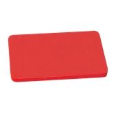 000.Π10/RD Κόκκινη Πλάκα Κοπής Πολυαιθυλενίου 60x40x1 cm