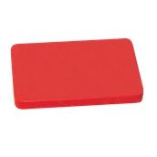 000.Π12/RD Κόκκινη Πλάκα Κοπής Πολυαιθυλενίου 60x40x2 cm