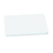 000.Π11/WH Άσπρη Πλάκα Κοπής Πολυαιθυλενίου 60x40x1,5 cm