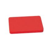 00Π.175/RD Κόκκινη Πλάκα Κοπής Πολυαιθυλενίου 40x30x2 cm