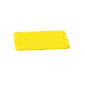 000.0Π4/YE Κίτρινη Πλάκα Κοπής Πολυαιθυλενίου 40x24x1 cm